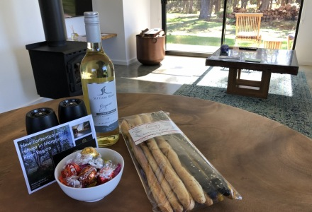 Chalet-complimentary-wine-
